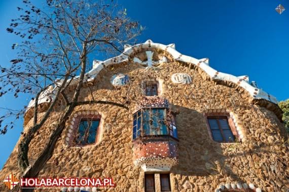 Barcelona Park Guell Antonio Gaudi