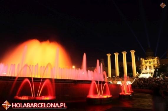 Magiczna Fontanna Barcelona