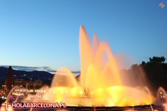 Musical Fountain Barcelona