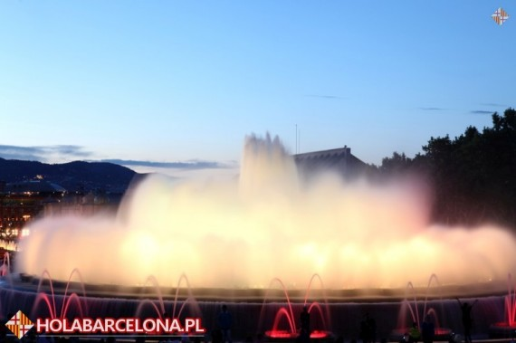 Dancing Fountains Barcelona