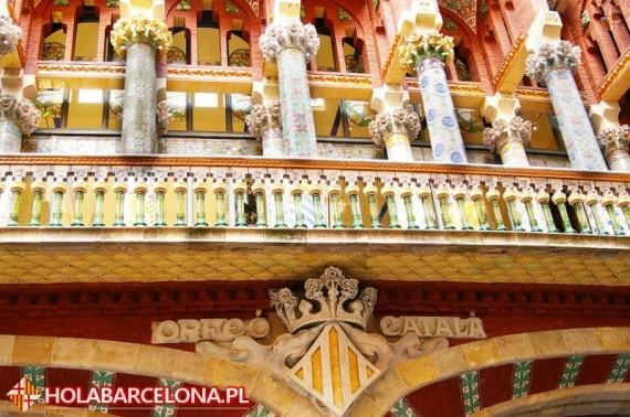 Barcelona Palau De La Musica Catalana