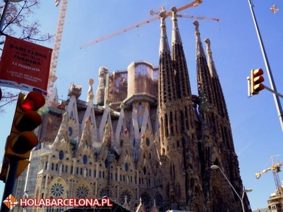 Barcelona Kosciol Sagrada Familia