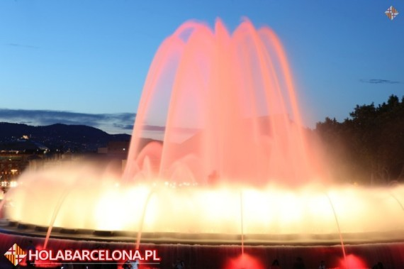Fountain Show Barcelona