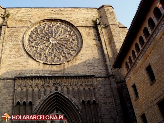 Barri Gotic Old City Of Barcelona